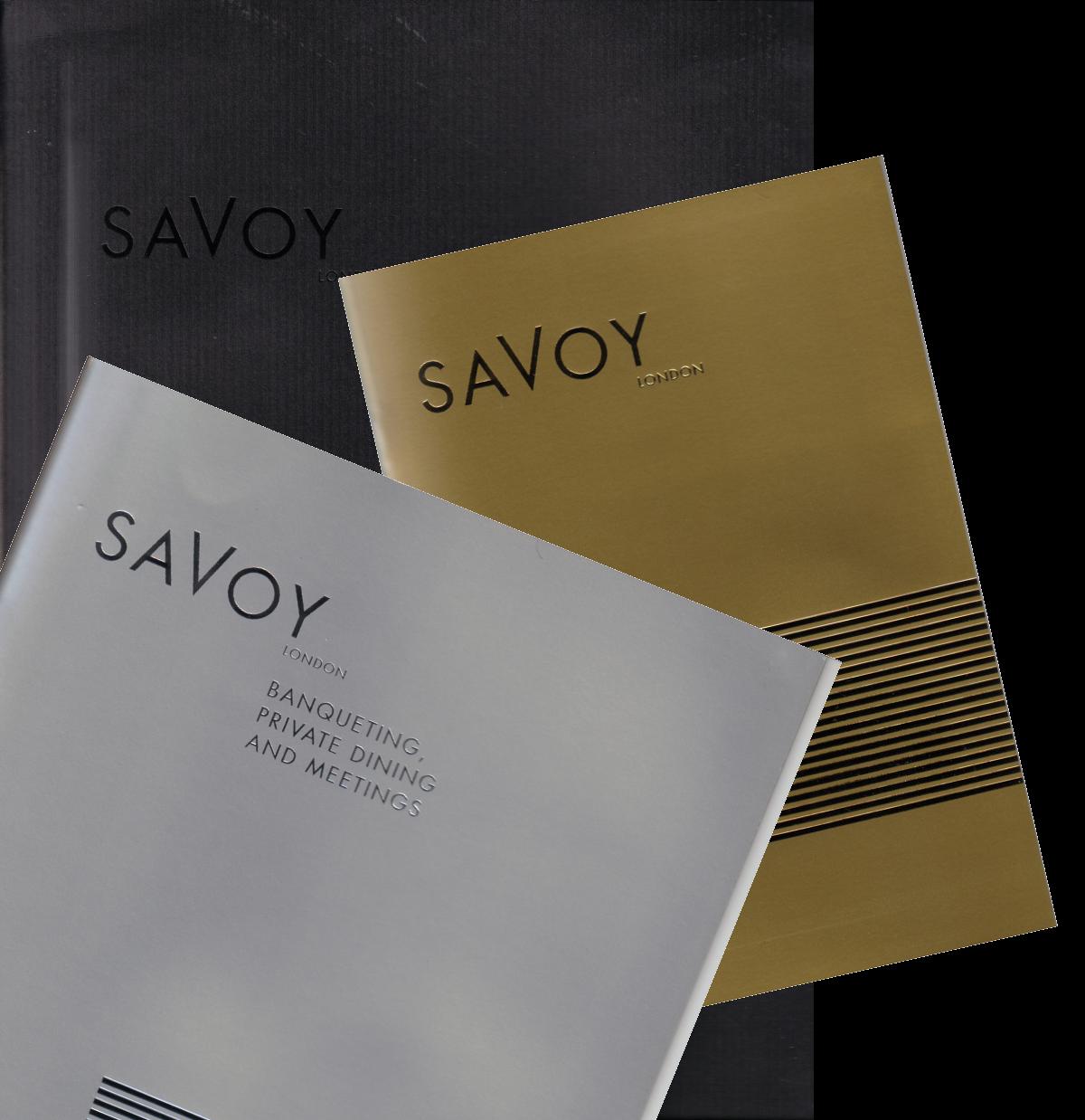 Savoy brochures